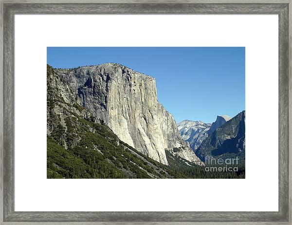 El Capitan Framed Print