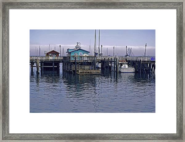 Fishermans Warf Monterey Framed Print