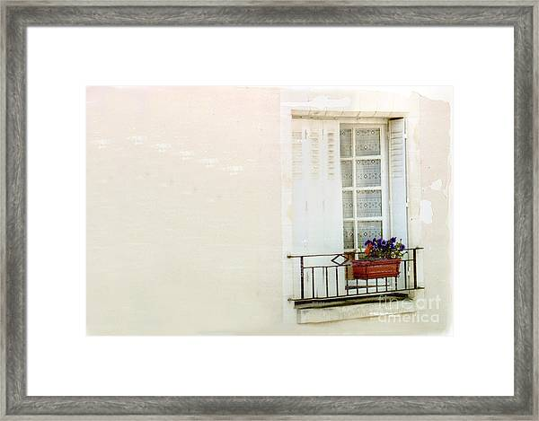 Flower Box Framed Print