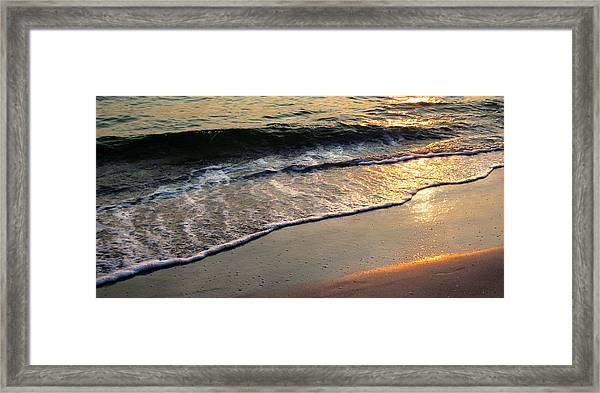 Gentle Tide Framed Print