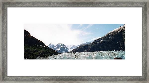 Glacier Bay Framed Print
