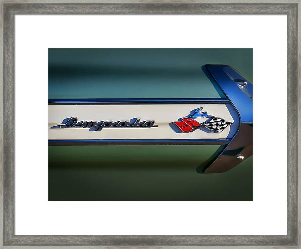Impala Brightwork Framed Print