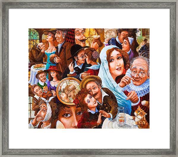 In The Eye Of Beholder Framed Print