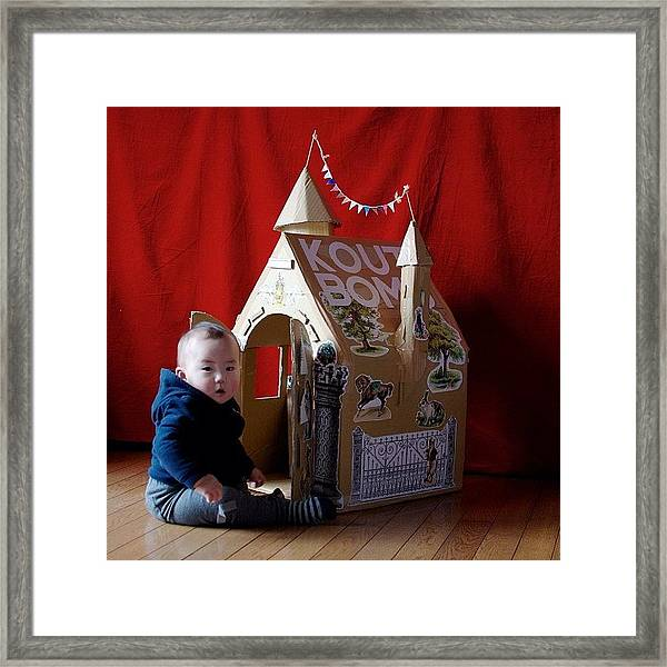 Koutbomb House Framed Print