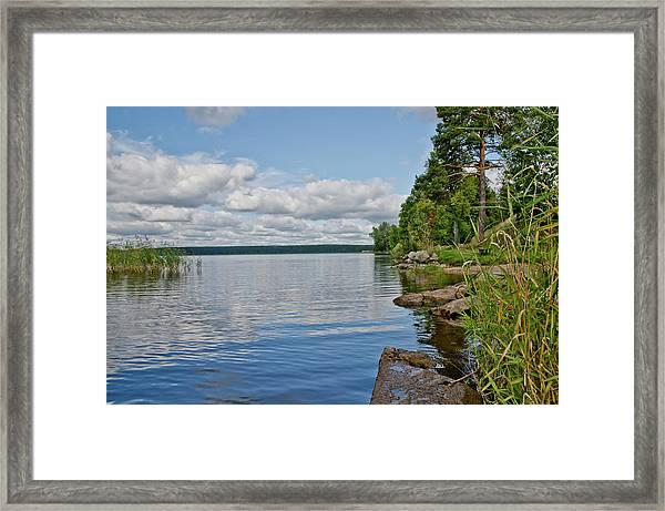 Lake Seliger Framed Print