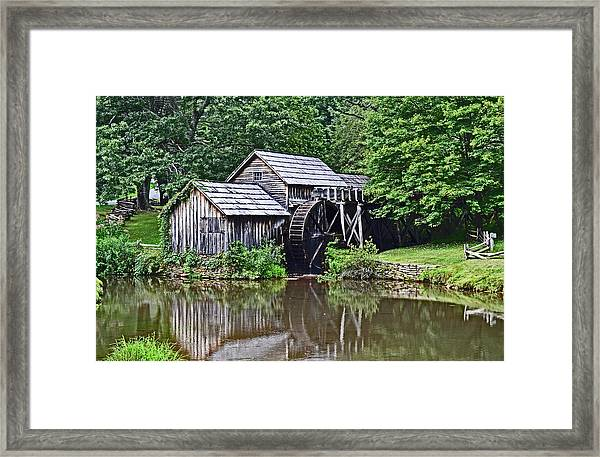 Mabry Grist Mill Framed Print