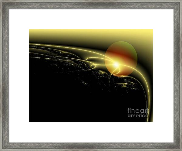 A Star Was Born, From Serie Mystica Framed Print