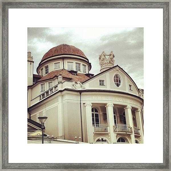 My Town... Merano Framed Print