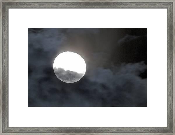 Mysterious Moon Framed Print