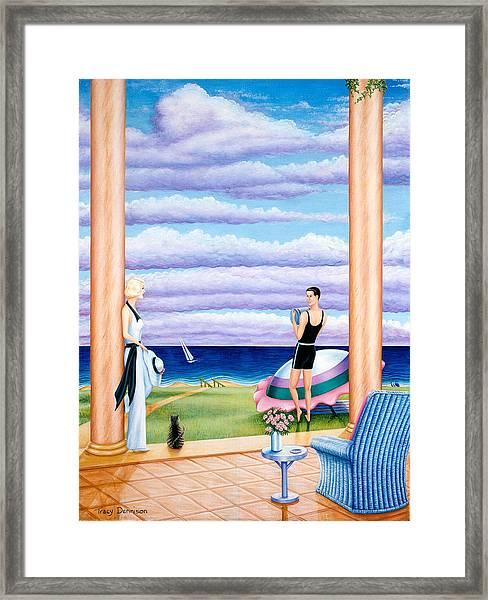 Palm Beach Framed Print