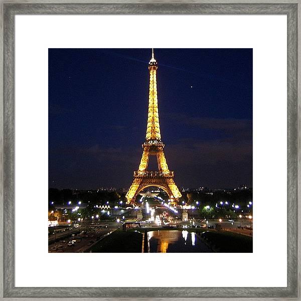 Paris By Night Framed Print