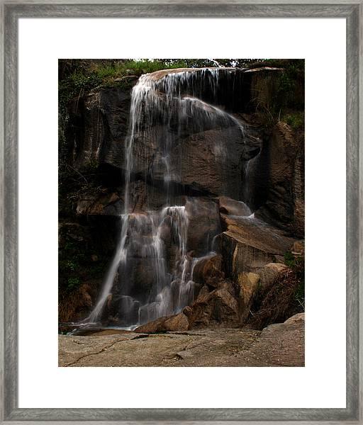 Peaceful Falls Framed Print