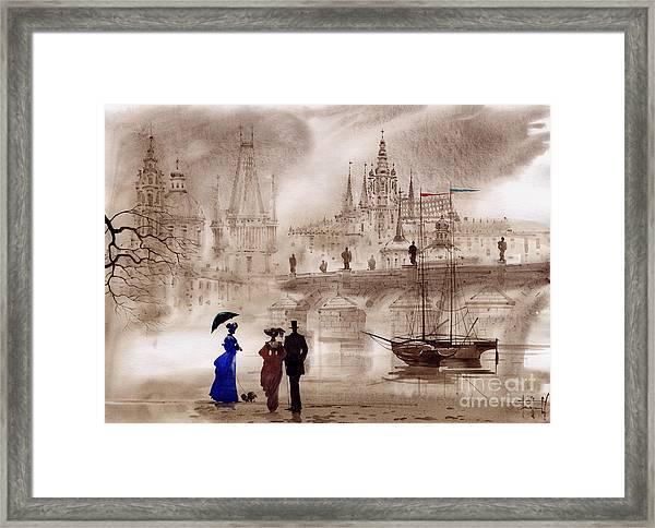 Prague II Framed Print by Svetlana and Sabir Gadghievs