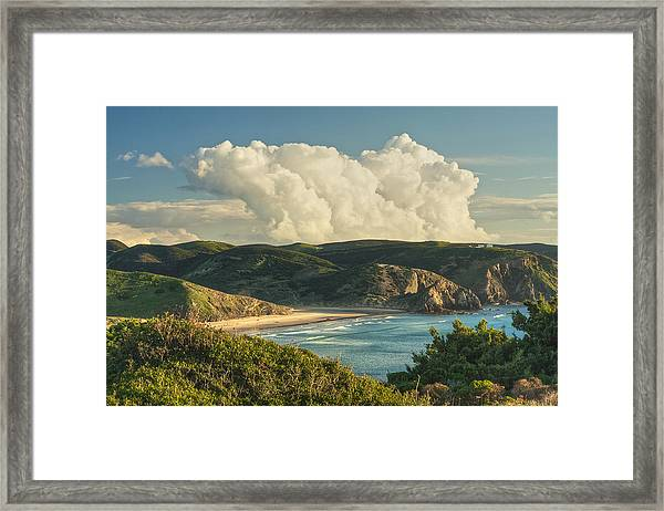Praia Do Amado Framed Print