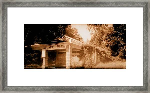 Rainbow Gro-mkt  Framed Print