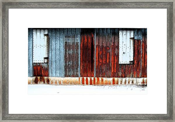 Rust R' Us Framed Print