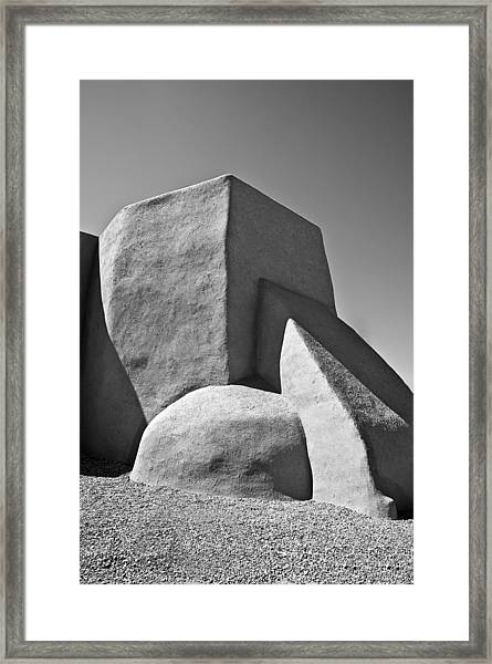 Saint Francisco De Asis Mission Church Framed Print