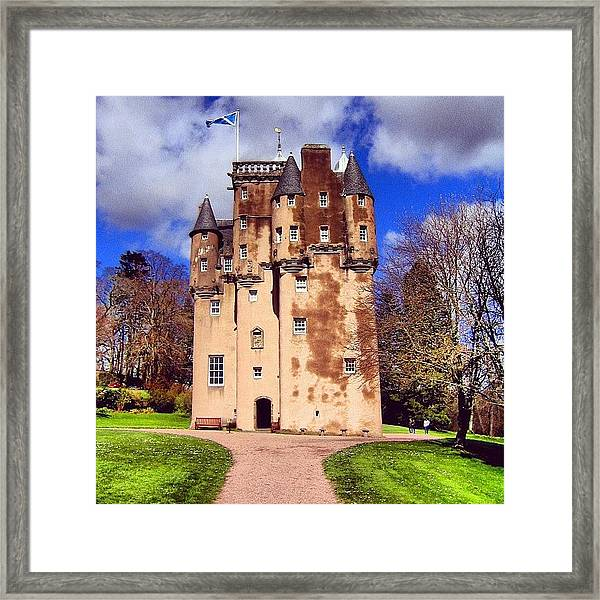 Scottish Castle Framed Print