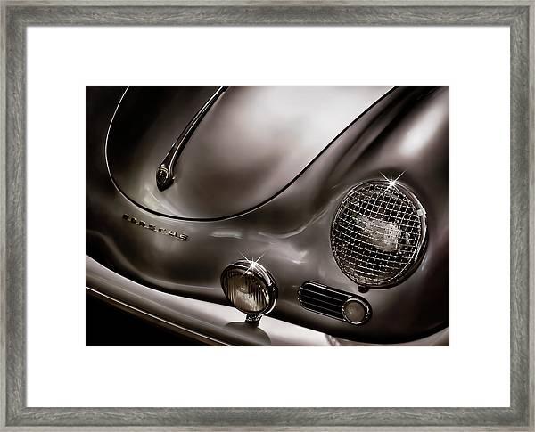 Silver Ghost Framed Print
