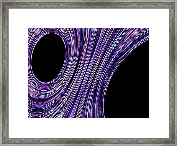 Framed Print featuring the digital art Simply Design by Mihaela Stancu
