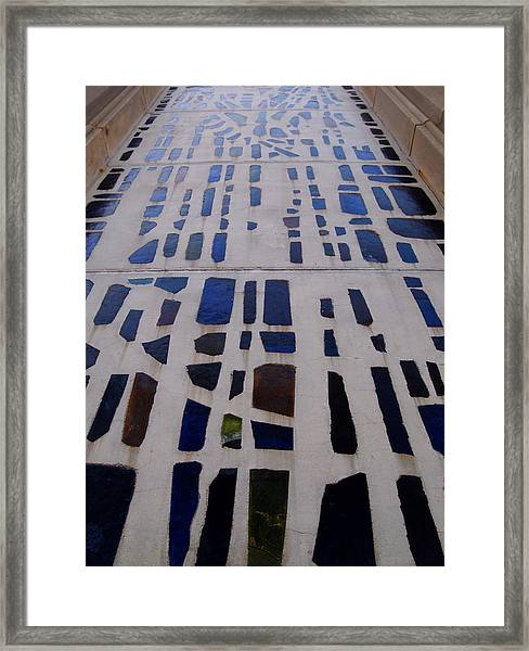 Stained Glass Framed Print by Judge Howell