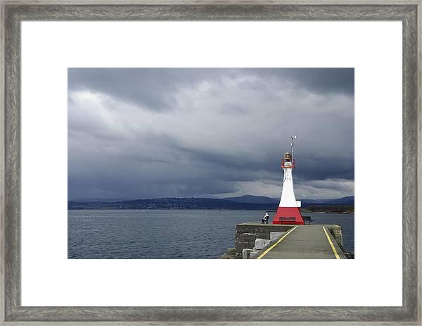 Stormwatch Framed Print
