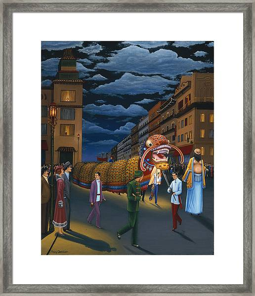 The Chinese New Year Framed Print