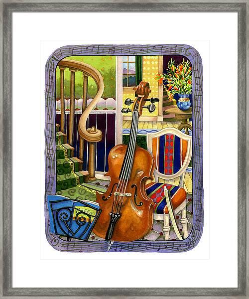 The Music Lesson Framed Print