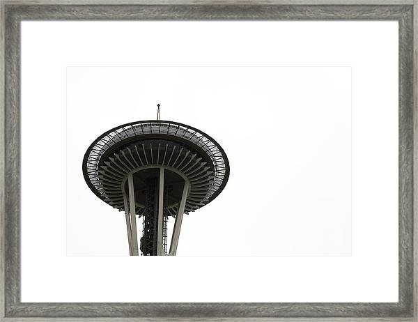 Framed Print featuring the photograph The Needle by Lorraine Devon Wilke