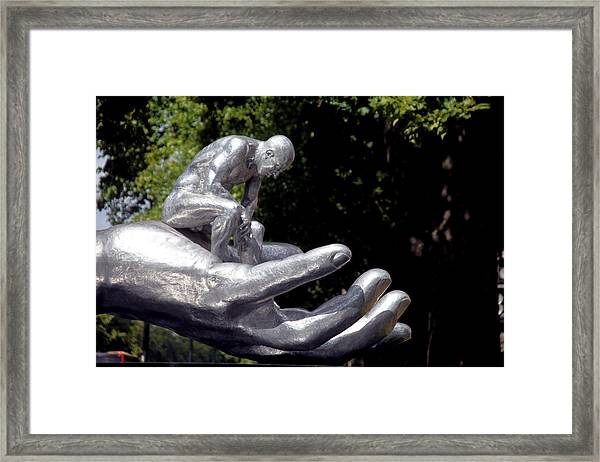 Trusted Framed Print by Jez C Self