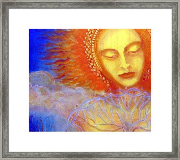 Water Life Blood  Framed Print