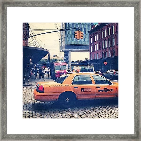 14th Street Framed Print
