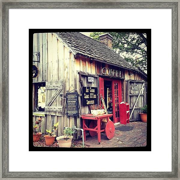 Instagram Photo Framed Print by Michele Green Williams