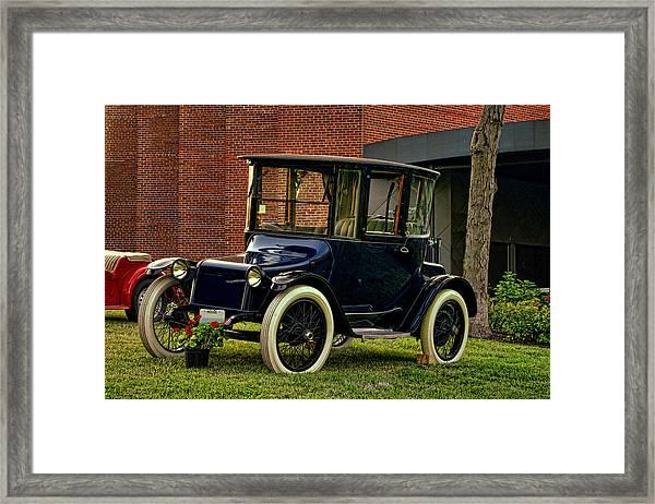1917 Detroit Electric Model 68 Framed Print