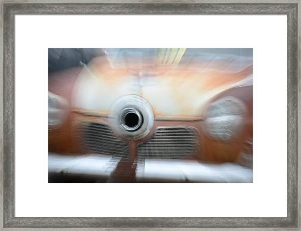 1951 Studebaker Abstract Framed Print