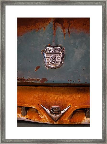 1953 Ford Dump Truck Framed Print