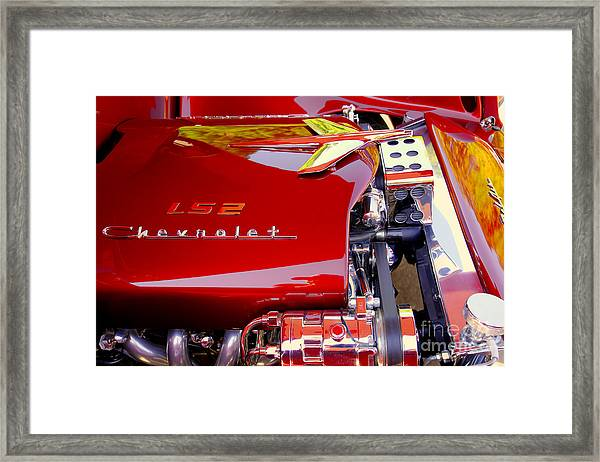 1955 Chevy Bel Air Custom Framed Print