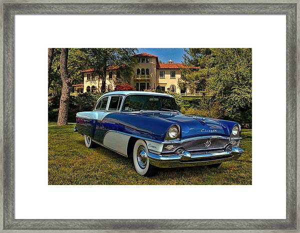 1955 Packard Clipper Framed Print by Tim McCullough