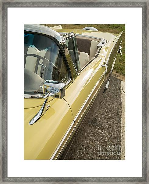 1957 Ford Fairlane 500 Skyliner Retractable Hardtop Convertible Framed Print