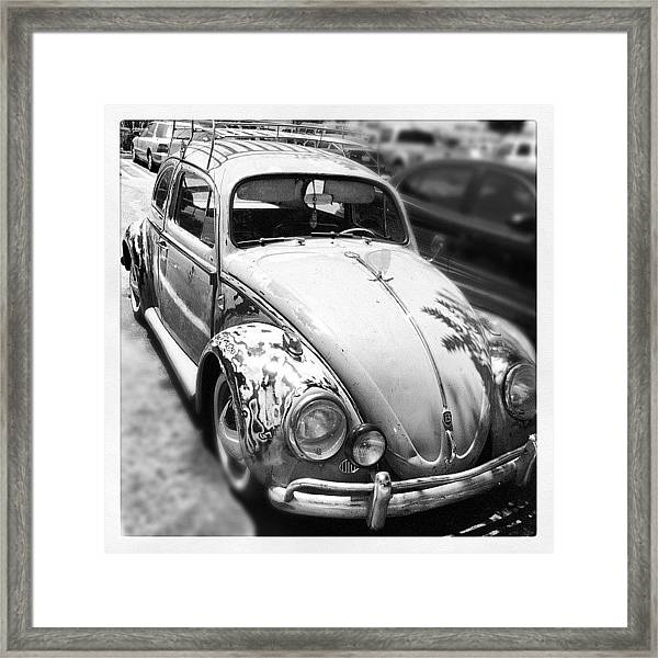 1961 Volkswagon Beetle Framed Print