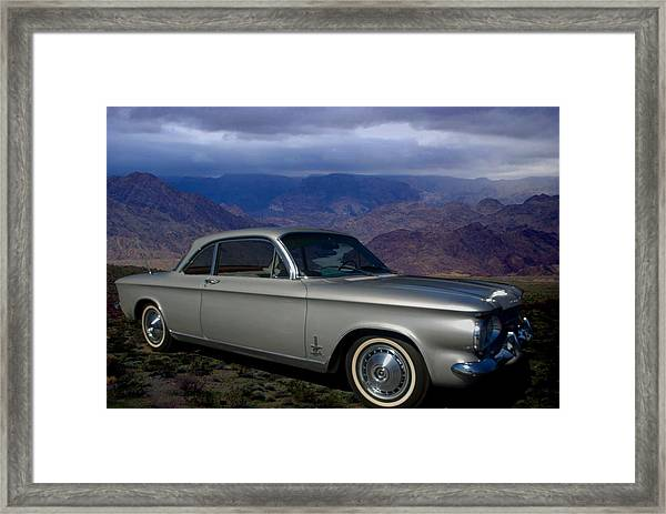 1964 Corvair Sypder  Framed Print by Tim McCullough