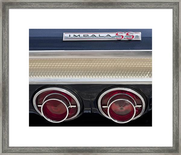 1964 Impala Framed Print