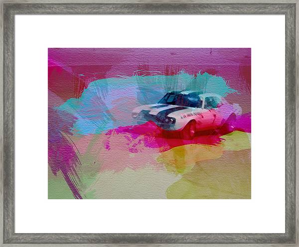 1968 Chevy Camaro Framed Print