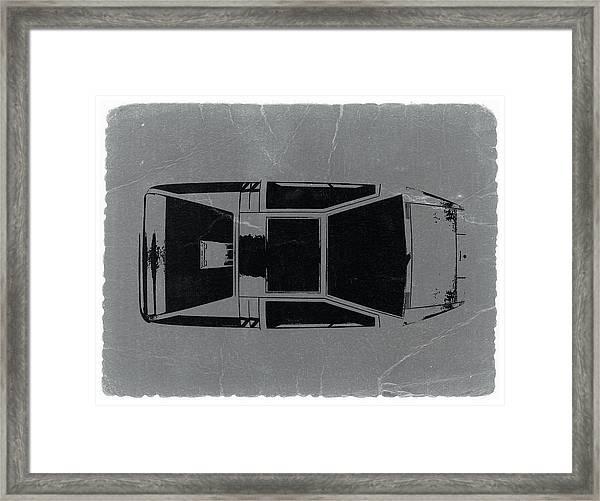 1972 Maserati Boomerang Framed Print