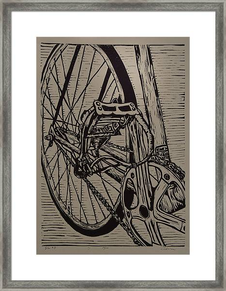 Bike 3 Framed Print