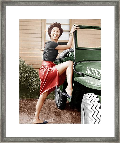 Carmen Jones Dorothy Dandridge 1954 Photograph By Everett