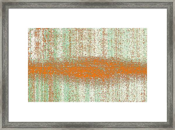 Framed Print featuring the digital art Color Rust by Mihaela Stancu