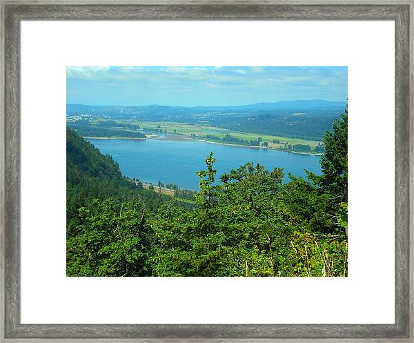 Columbia River Gorge Framed Print