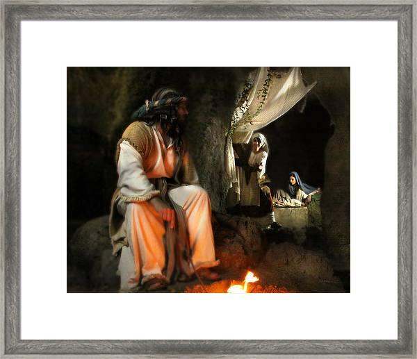 Come Joseph Framed Print