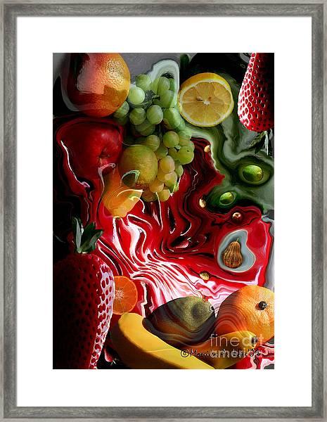 Fruit Medley Framed Print